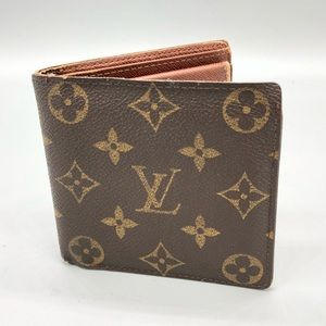 Authentic Louis Vuitton bifold monogram wallet